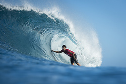December 18, 2017 - Oahu, Hawaii, U.S. - Jeremy Flores (FRA) placed 1st in Heat 3 of Round Four at Billabong Pipe Masters 2017 in Pipe  Oahu, Hawaii , USA..Billabong Pipe Masters 2017, Hawaii, USA - 18 Dec 2017 (Credit Image: © WSL via ZUMA Wire/ZUMAPRESS.com)