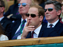02.07.2014, All England Lawn Tennis Club, London, ENG, ATP Tour, Wimbledon, im Bild William Windsor (Duke of Cambridge) during the Gentlemen's Singles Quarter-Final match on day nine // during the Wimbledon Championships at the All England Lawn Tennis Club in London, Great Britain on 2014/07/02. EXPA Pictures © 2014, PhotoCredit: EXPA/ Propagandaphoto/ David Rawcliffe<br /> <br /> *****ATTENTION - OUT of ENG, GBR*****