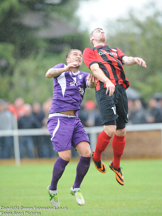 Josh Moreman, Kettering, Kettering Town v Daventry Town Southern League Division One Central, 25th August 2014