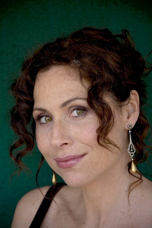 """Photo ©2008 Tom Wagner,  ©Tom Wagner 2008, all rights reserved, all moral rights asserted..Portrait of Minnie Driver, star of the hit US program The Riches, she plays Dahlia Malloy, as well as film actor and musician (she has released two well received albums-""""Everything I've Got In My Pocket,"""" her first album, and """"Seastories,"""" her second album.)"""