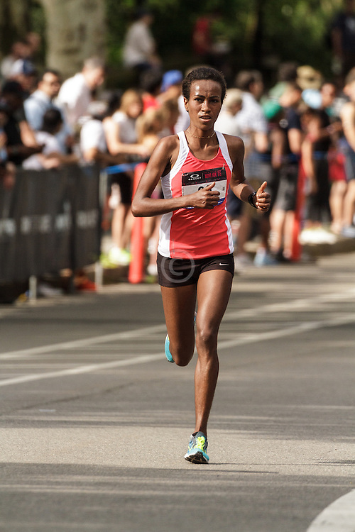 NYRR Oakley Mini 10K for Women: Askale Merachi, Ethiopia, Nike