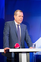 26.05.2019, Haus der Europaeischen Union, Wien, AUT, Runde der Spitzenkandidaten bei Puls 4, im Bild Harald Vilimsky (FPOe)// during round of top candidates at Puls 4 at the Haus der Europaeischen Union in Vienna, Austria on 2019/05/26. EXPA Pictures © 2019, PhotoCredit: EXPA/ Florian Schroetter