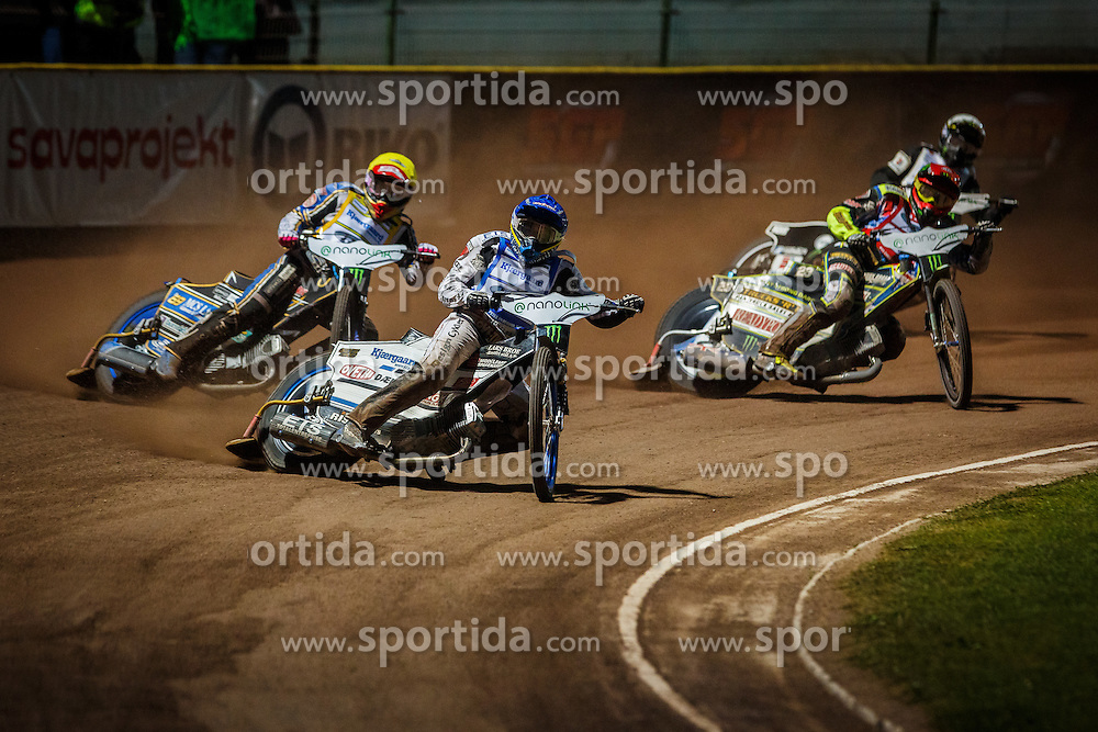 PETER KILDEMAND of Denmark, CHRIS HOLDER & JASON DOYLE of Australia and TAI WOFFINDEN of Great Britain during FIM Speedway Grand Prix World Cup, Krsko, on 30. April, 2016, in Sports park Krsko, Slovenia. Photo by Grega Valancic / Sportida