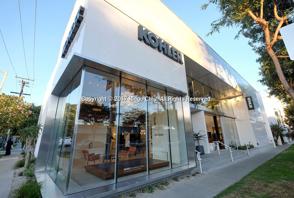 Kohler store in West Hollywood store. (Photo by Ringo Chiu)<br /> <br /> Usage Notes: This content is intended for editorial use only. For other uses, additional clearances may be required.