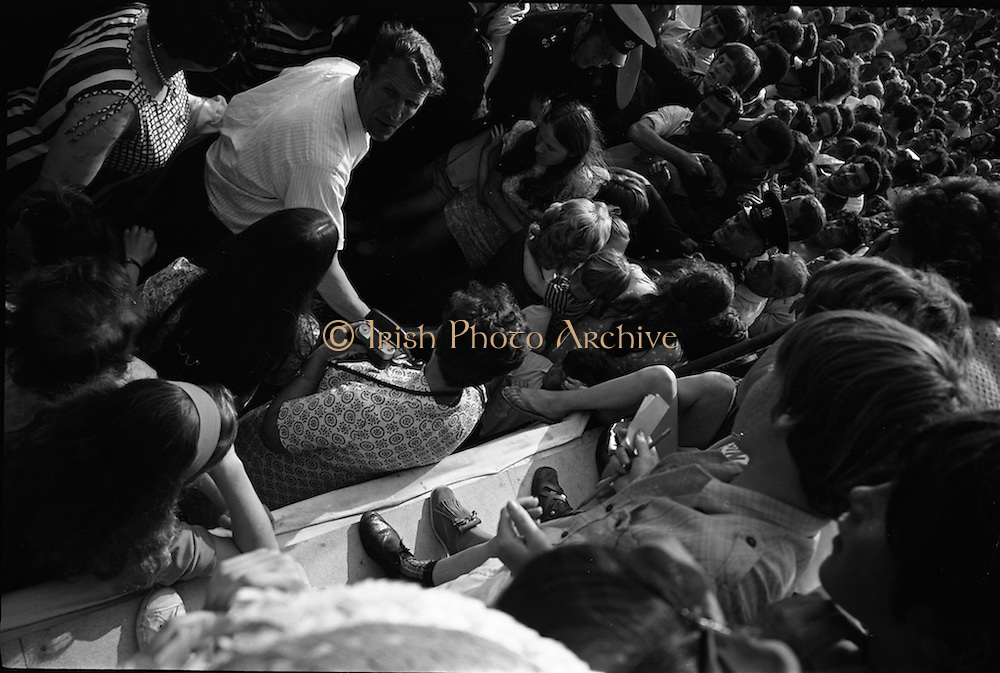 15/07/1972<br /> 07/15/1972<br /> 15 July 1972<br /> Muhammad Ali at Stewarts Hospital Fete, Palmerstown, Dublin. The crowds gather to see Ali, as his makes his way through the throng.