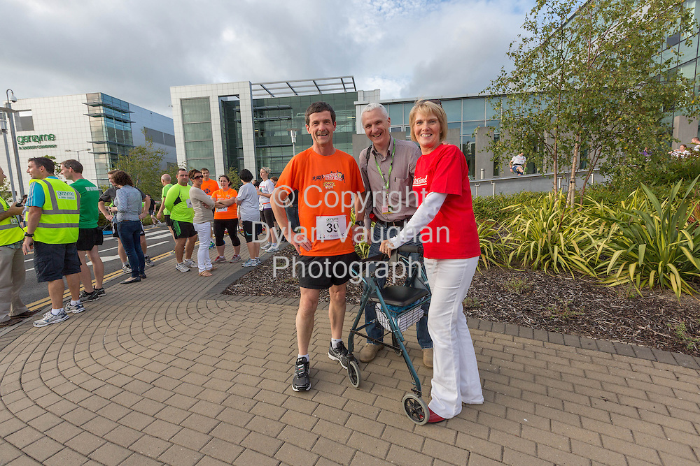 No Repro Fee<br /> <br /> <br /> 301/8/2013<br /> Sean McGowan, Richard Bierney, Genzyme and Eileen Nolan, Multiple Sclerosis Society of Ireland pictured at the third annual Genzyme for MS Five Mile Road Race in Waterford on Friday (Aug 30). All proceeds from the race are going to the Waterford branch of the Multiple Sclerosis Society of Ireland. <br /> <br /> Picture Dylan Vaughan.