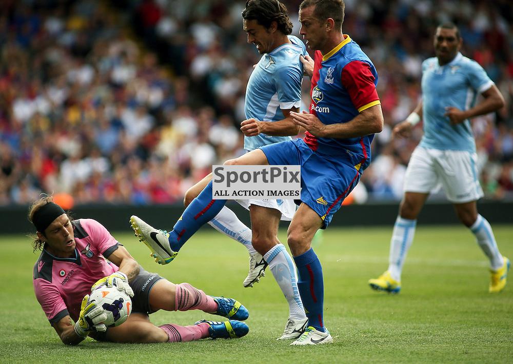Federico Marchetti (Lazio) saves - Crystal Palace v Lazio - pre season friendly - 10 August 2013 played at Selhurst Park Stadium, London (c) Liam McAvoy   SportPix