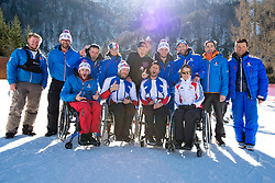 French Team, 2015 IPCAS Super G, Sella Nevea, Tarvisio, Italy