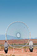 A larger than life Dream Catcher along the Arizona section of Route 66. Missoula Photographer