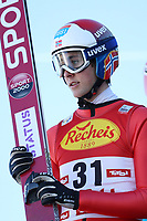SEEFELD,AUSTRIA,26.JAN.17 - NORDIC SKIING, NORDIC COMBINED, SKI JUMPING - FIS World Cup, Nordic Triple, training and qualification. Image shows Jarl Magnus Riiber (NOR). <br /> Norway only