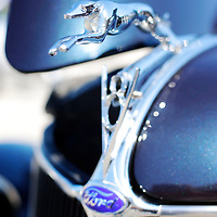 Thomas Wells | BUY at PHOTOS.DJOURNAL.COM<br /> The hood ornament of a 1936 Ford from St. Paul Minnesota