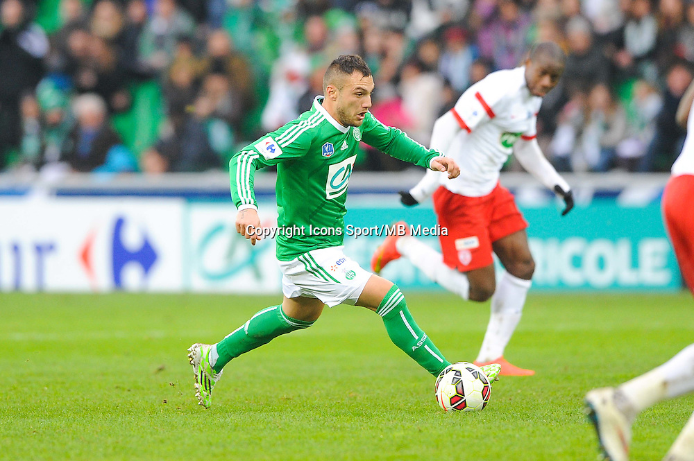 Yohan MOLLO  - 04.01.2015 - Saint Etienne / Nancy - Coupe de France<br /> Photo : Jean Paul Thomas / Icon Sport