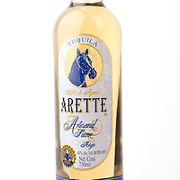 Arette Artesanal Suave anejo -- Image originally appeared in the Tequila Matchmaker: http://tequilamatchmaker.com