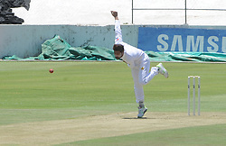 Johannesburg 19-12-18 South Africa Invitation XI vs Pakistan. Pakistan open their tour of South Africa with a three-day match at Sahara Willowmoore Park, Benoni. Day 1.  Pakistan bowler Mohammad Amir.<br />           Picture: Karen Sandison/African News Agency(ANA)