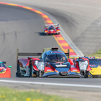 The Performance Tech Motorsports ORECA LMP2 car practice for the Sahlen's Six Hours At The Glen at Watkins Glen International Raceway in Watkins Glen, New York.