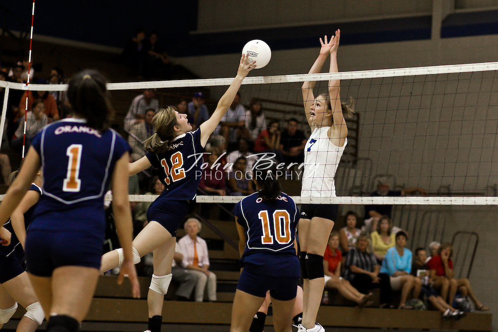 MCHS Varsity Volleyball .vs Orange .9/2/2008