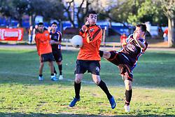 Lance da partida entre o Canchinha e Pedreira, válida pela final da Copa Kaiser RS de Futebol Amador 2012.  FOTO: Luis Gonçalves/Preview.com