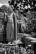 The Aukana Buddha.