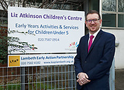 London, United Kingdom - 7 March 2018<br /> EQUINOX PICTURE EXCLUSIVE - Labour Party Shadow Chancellor John McDonnell and Shadow Communities Secretary Andrew Gwynne visiting the Liz Atkinson Children's Centre, Lambeth, London, England, UK, They were visiting the centre to highlight Conservative austerity cuts to children's centres. Europe.www.newspics.com/#!/contact<br /> (photo by: EQUINOXFEATURES.COM)<br /> Picture Data:<br /> Photographer: Equinox Features<br /> Copyright: &copy;2018 Equinox Licensing Ltd. +448700 780000<br /> Contact: Equinox Features<br /> Date Taken: 20180307<br /> Time Taken: 12131168