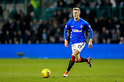 Ross McCrorie (#17) of Rangers on the ball during the Ladbrokes Scottish Premiership match between Hibernian and Rangers at Easter Road, Edinburgh, Scotland on 19 December 2018.