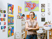 Silver Street Studios Artist portrait<br /> Photographed by editorial photographer Nathan Lindstrom.