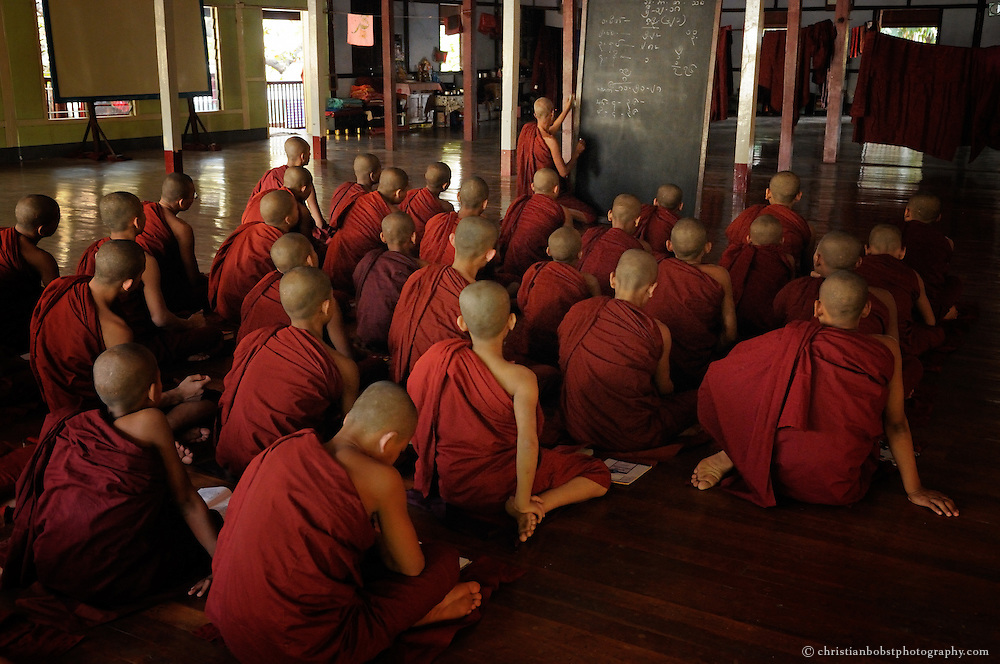 Monks, Mynamar/Burma