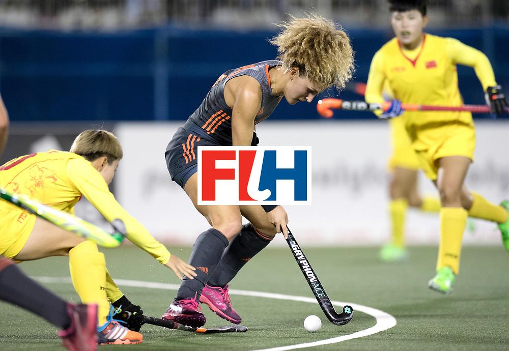 AUCKLAND - Sentinel Hockey World League final women<br /> Match id: 10305<br /> 16 NED v CHina (QF)<br /> Foto: Maria Verschoor.<br /> WORLDSPORTPICS COPYRIGHT FRANK UIJLENBROEK