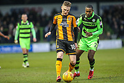 Cambridge United's George Maris(18) during the EFL Sky Bet League 2 match between Forest Green Rovers and Cambridge United at the New Lawn, Forest Green, United Kingdom on 20 January 2018. Photo by Shane Healey.