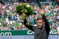 FUSSBALL  1. BUNDESLIGA  SAISON 2018/2019  34. SPIELTAG  SV Werder Bremen - RB Leipzig               18.05.2019 Verabschiedung Max Kruse (SV Werder Bremen)  ----DFL regulations prohibit any use of photographs as image sequences and/or quasi-video.----