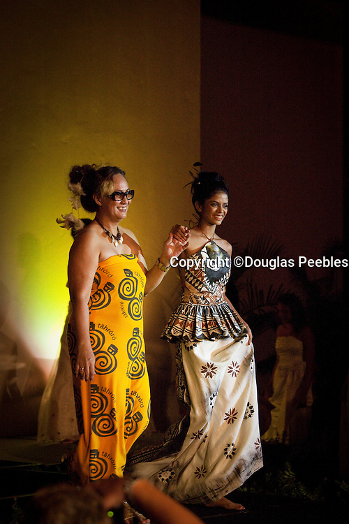 Fijian Fashion show, Rosie Semisi designs,   Shangri-la Fijian Resort and Spa; Coral Coast; Viti Levu; Fiji;