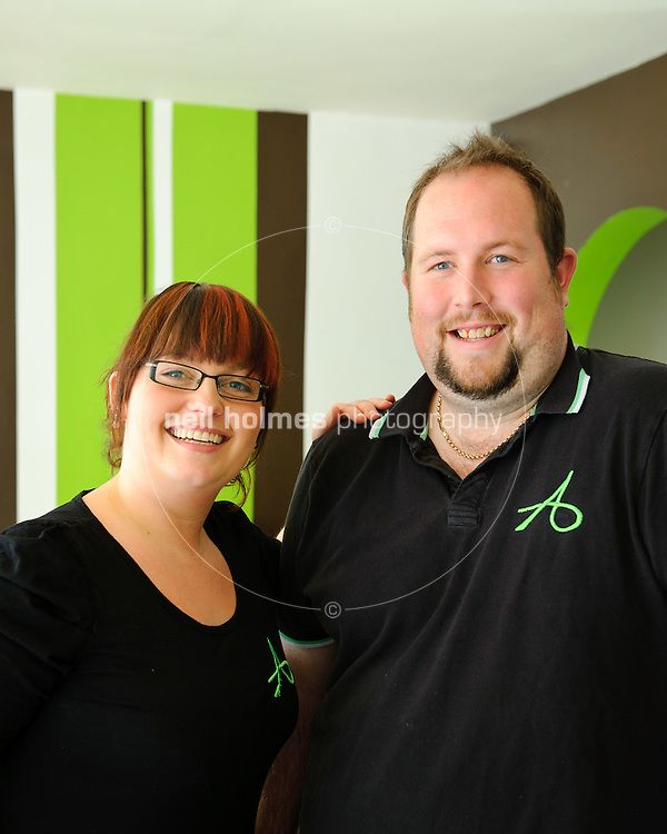 Paul  and Laura Atkinson, Atkinsons Caf? Bar, 7 The Square, Willerby, East Yorkshire