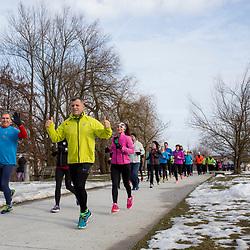 20180310: SLO, Running - Priprave na Ljubljanski maraton
