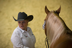 Mandy Mc Cutcheon, (USA), Yellow Jersey - Horse Inspection Reining  - Alltech FEI World Equestrian Games™ 2014 - Normandy, France.<br /> © Hippo Foto Team - Dirk Caremans<br /> 25/06/14