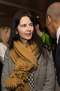 GILLIAN WEARING, Whitechapel Gallery Art Icon 2015 Gala dinner supported by the Swarovski Foundation. The Banking Hall, Cornhill, London. 19 March 2015