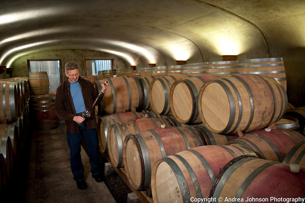 Dave Paige, winemaker, Adelsheim Winery, Oregon