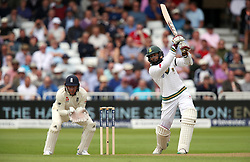 South Africa's Hashim Amla bats during day one of the Second Investec Test match at Trent Bridge, Nottingham.