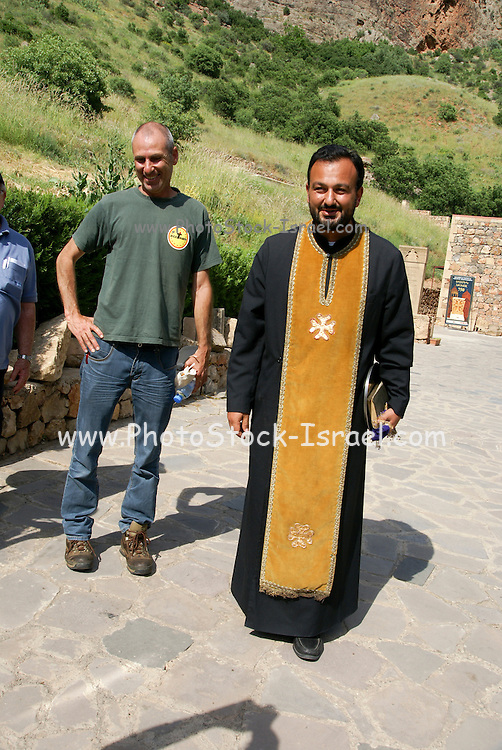 Armenia, Noravank Monastery The priest