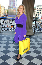 ALANNAH WESTON at an art talk and dinner hosted by Louis Vuitton at The National Gallery, Trafalger Square, London on 25th May 2006.
