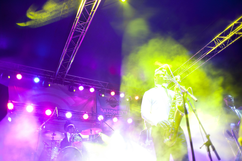 Karl Denson's Tiny Universe performs at Camp Euforia on Friday, July 17, 2015.