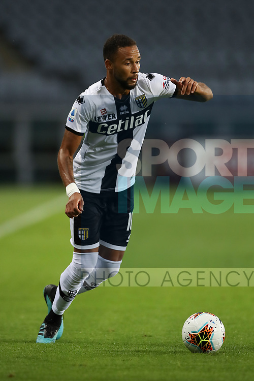 Parma Calcio's Brazilian midfielder Hernani during the Serie A match at Stadio Grande Torino, Turin. Picture date: 20th June 2020. Picture credit should read: Jonathan Moscrop/Sportimage