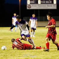 05-03-16 Berryville Boys Soccer vs Eureka Springs