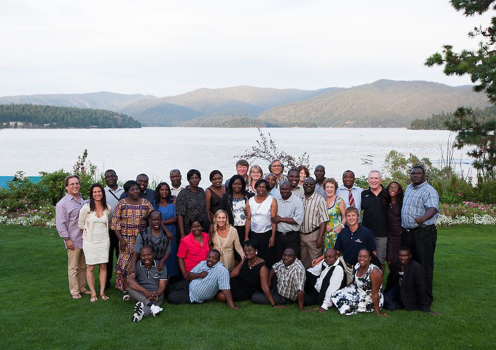 25 student-teachers from the Charles Lwanga College of Education in Zambia take part in a Gonzaga program designed to improve teacher education in Zambia and turn the College into an independent university.<br /> <br /> Photo by Rajah Bose