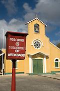 Church on Island of Curacao, Netherlands Antilles