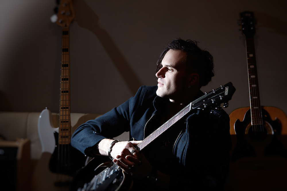 Guitarist and Songwriter, Dmitry Wild,