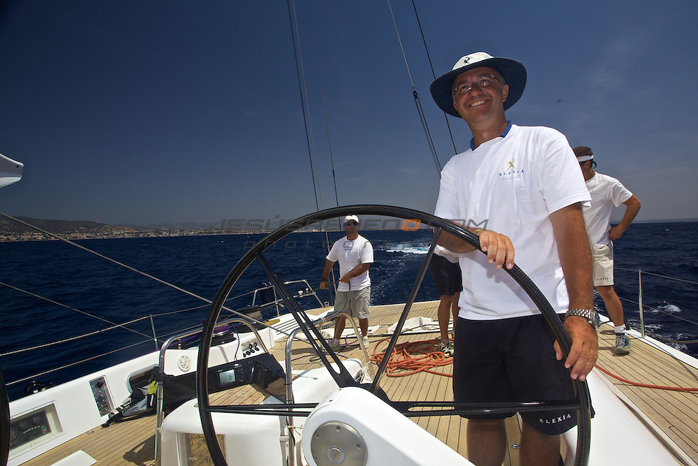 WALLY 100 ALEXIA,Palma de Mallorca, trainning for the ARC 2009