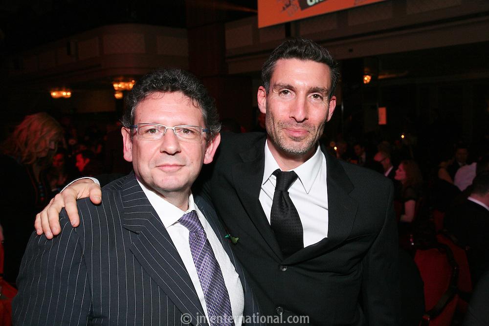 Lucian Grainge and David Joseph