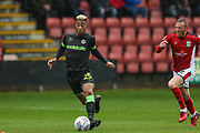Forest Green Rovers Junior Mondal(25) during the EFL Sky Bet League 2 match between Crewe Alexandra and Forest Green Rovers at Alexandra Stadium, Crewe, England on 27 April 2019.