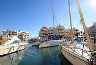 07-01-2009 Voetbal:Willem II:Trainingskamp:Torremolinos:Spanje<br /> Willem II ging vanochtend met een catamaran de open zee op in Spanje. De boot gaat op weg naar open zee met de selectie van Willem II aan boord<br /> Foto: Geert van Erven