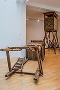 Hunting Blind, 2008 - Mark Dion: Theatre of the Natural World at the Whitechapel Gallery. This is the first major UK survey show of the American artist and includes a new work made especially for London. He is an 'explorer, collector, activist and conjuror of magical environments', and invites vistors to embark on a journey.