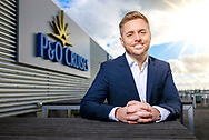 Paul Ludlow, Senior Vice President, P&amp;O Cruises pictured at Carnival House in Southampton.<br /> Picture date: Thursday January 18, 2018.<br /> Photograph by Christopher Ison &copy;<br /> 07544044177<br /> chris@christopherison.com<br /> www.christopherison.com